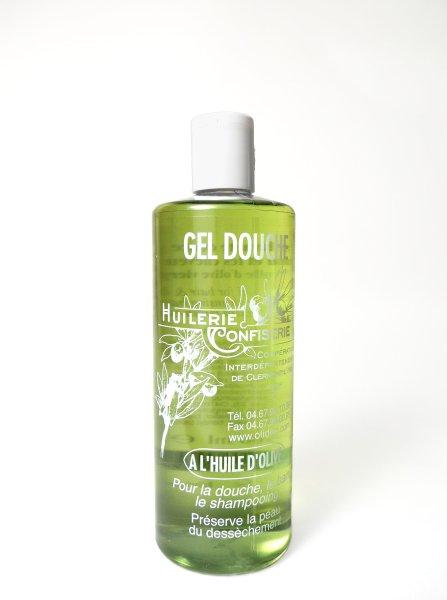 Gel douche base d 39 huile d 39 olive 500ml - Gel douche peau atopique ...